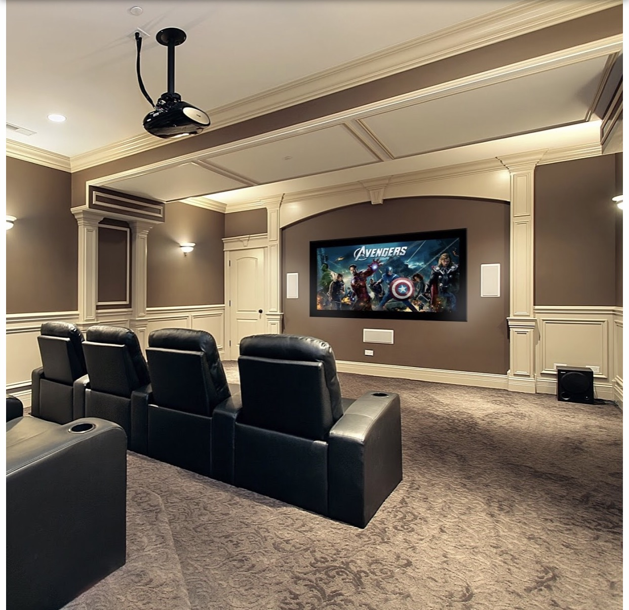 Is It Possible To Use Atmos For My In Ceiling Speakers For