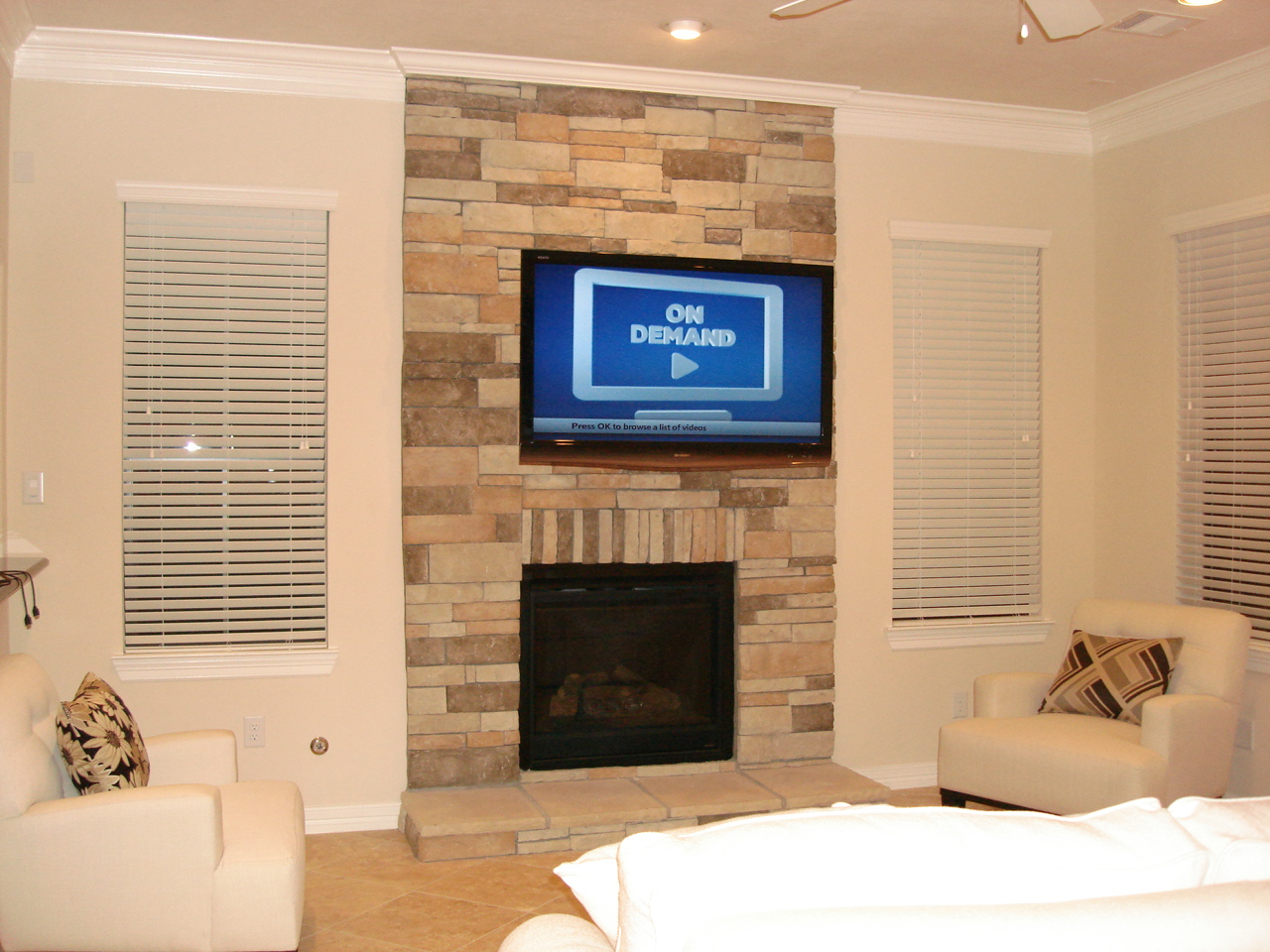 Wall Mount Tv Above Fireplace Decorating Interior Of Your House Wiring Installation Houston Home Theater Installing Over